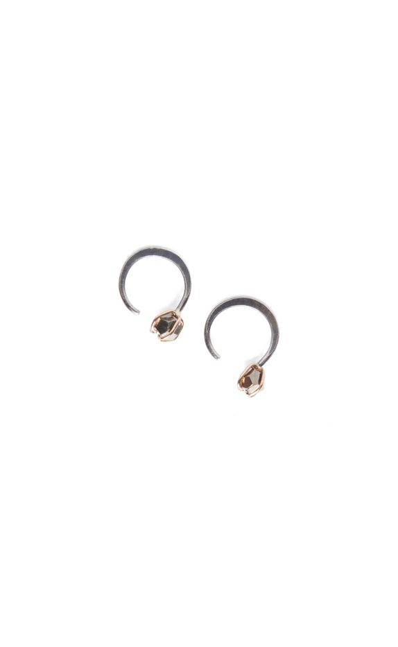 Melissa Joy Manning for Rebecca Taylor Pyrite Huggie Earrings