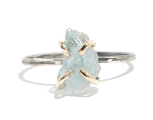 Melissa Joy Manning for Rebecca Taylor Aquamarine Ring