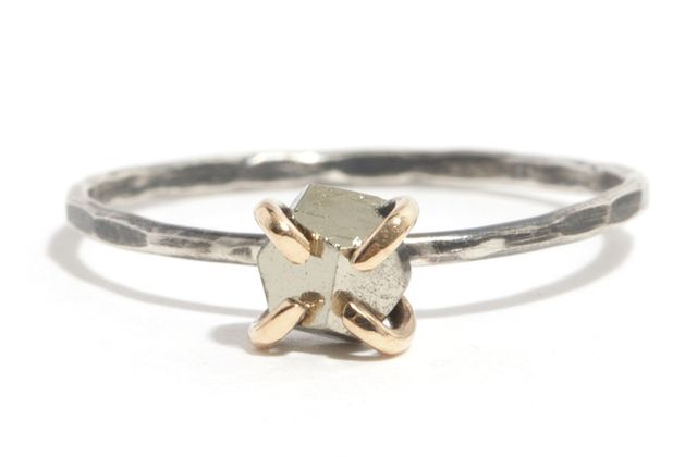 Melissa Joy Manning for Rebecca Taylor Pyrite Ring