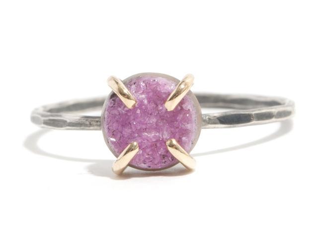 Melissa Joy Manning for Rebecca Taylor Calcite Gemstone Ring