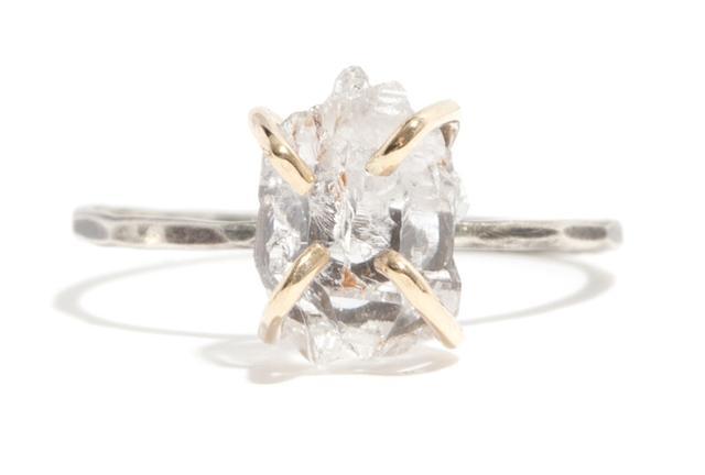 Melissa Joy Manning for Rebecca Taylor Crystal Quartz Ring