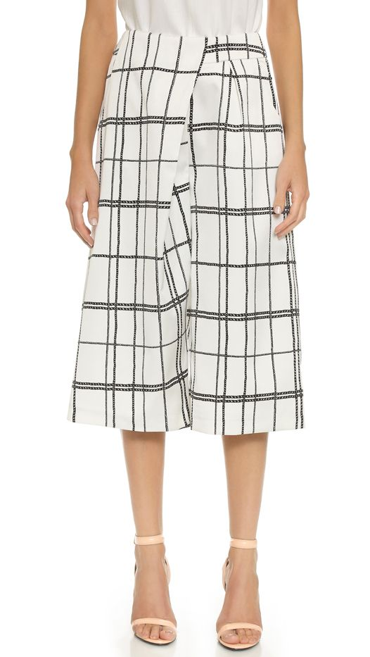 C/Meo Collective Lady Killer Culottes, Ivory Rope