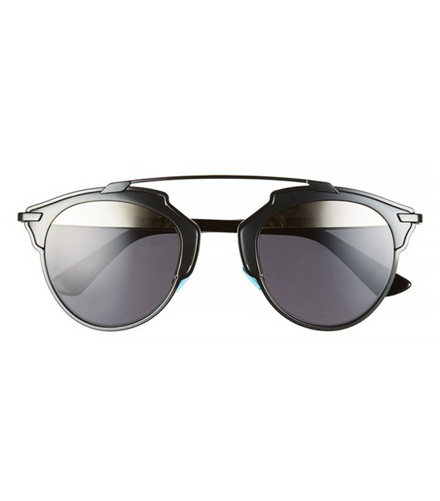 Dior So Real 48mm Sunglasses in Shiny Black