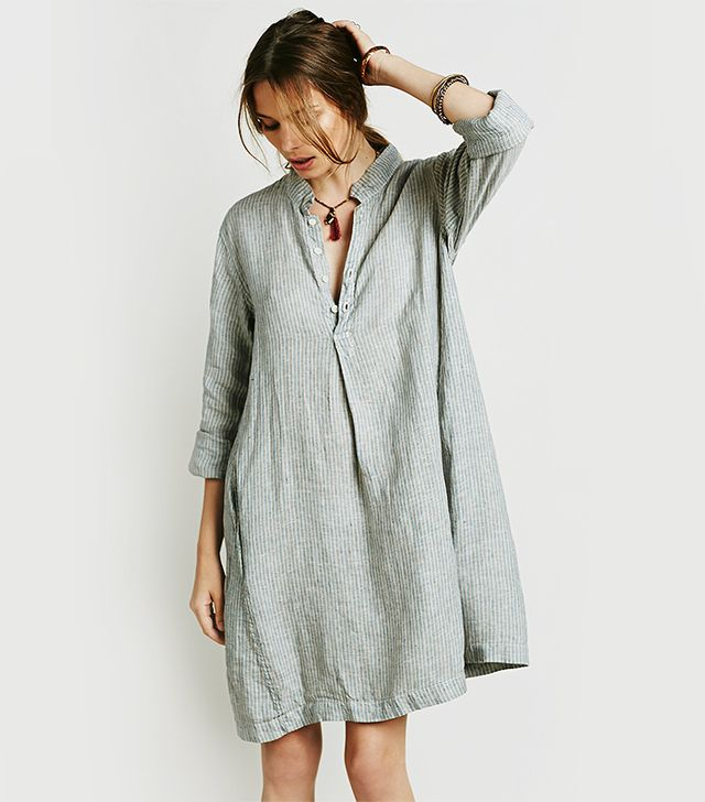 Free People Jasmine Dress in Oatmeal