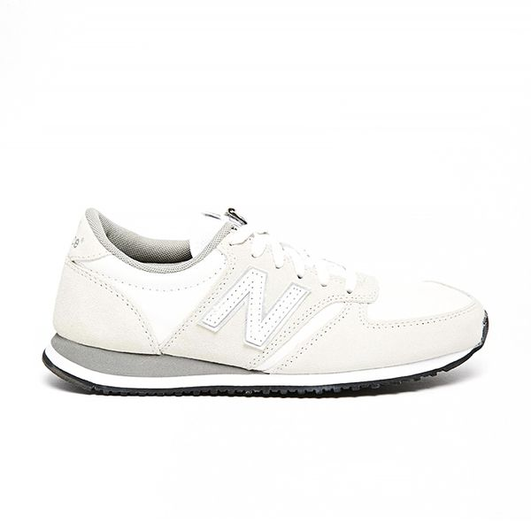New Balance 420 Cream Suede Sneakers