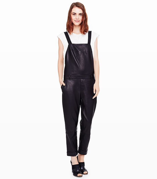 Club Monaco Dani Leather Overall