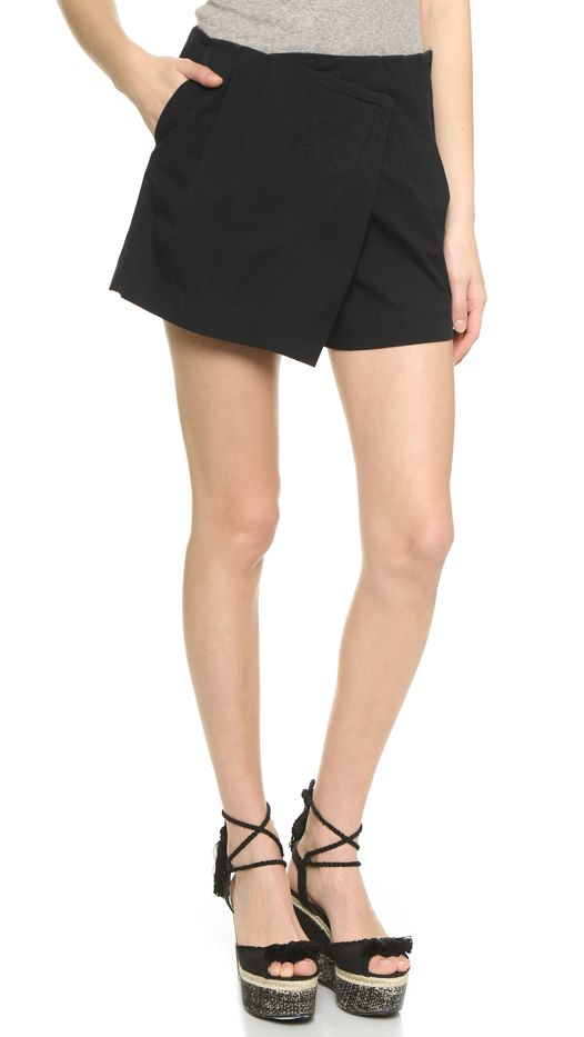 Marc by Marc Jacobs Summer Cotton Shorts, Black
