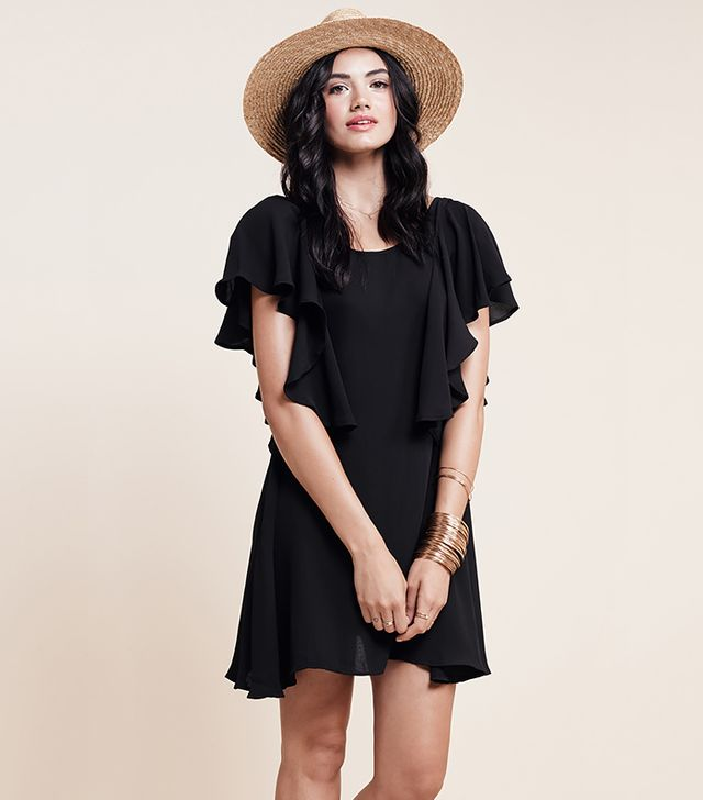 For Love & Lemons Coco Dress, Black