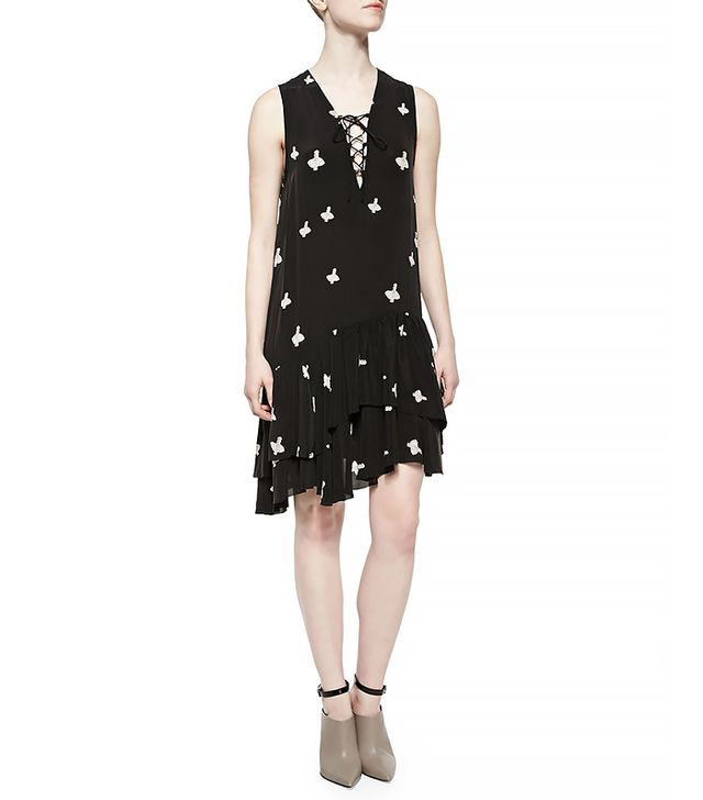 Zadig & Voltaire Rory Print Croix Dress