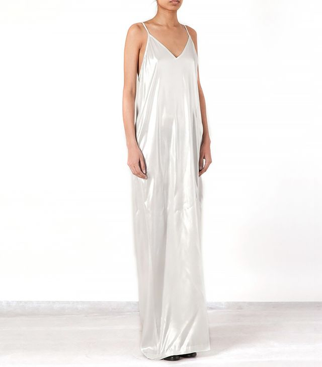 Ilaria Nistri Silk Slip Dress