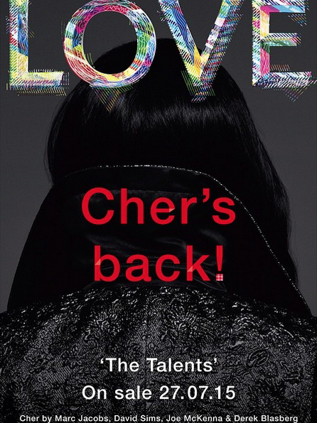 Major: Cher Landed the Cover of Love Magazine