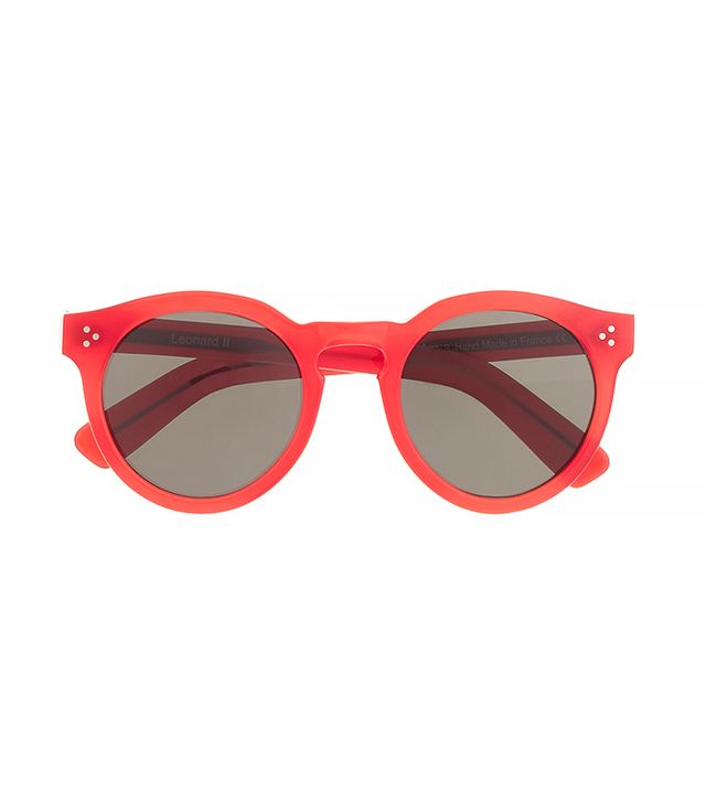 Illesteva Leonard II Red Sunglasses