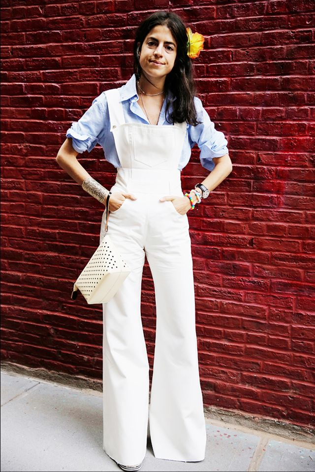 Traditionally, overalls are the most slimming wardrobe staples, but if you can find a pair that cinches in at the waist and flares out at the bottom, your life will change.