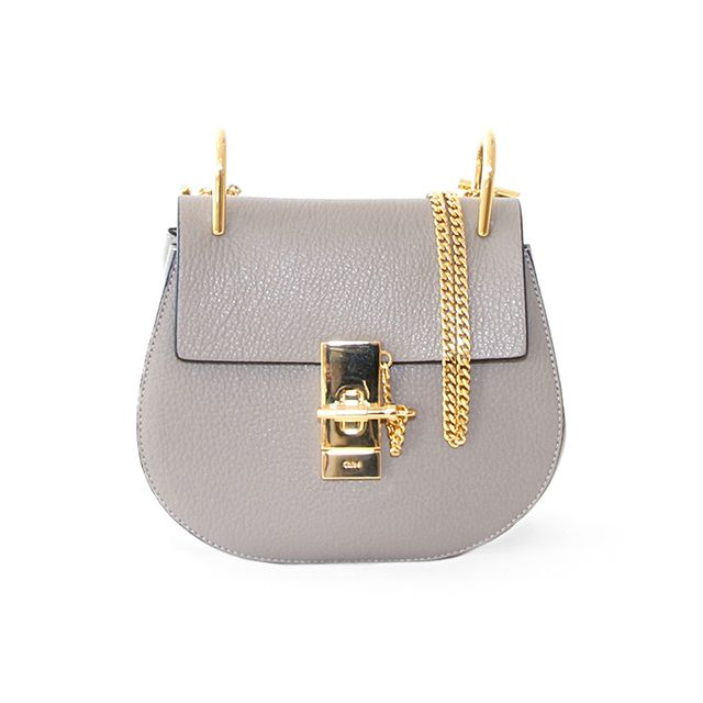Chloé Drew Mini Motty Grey