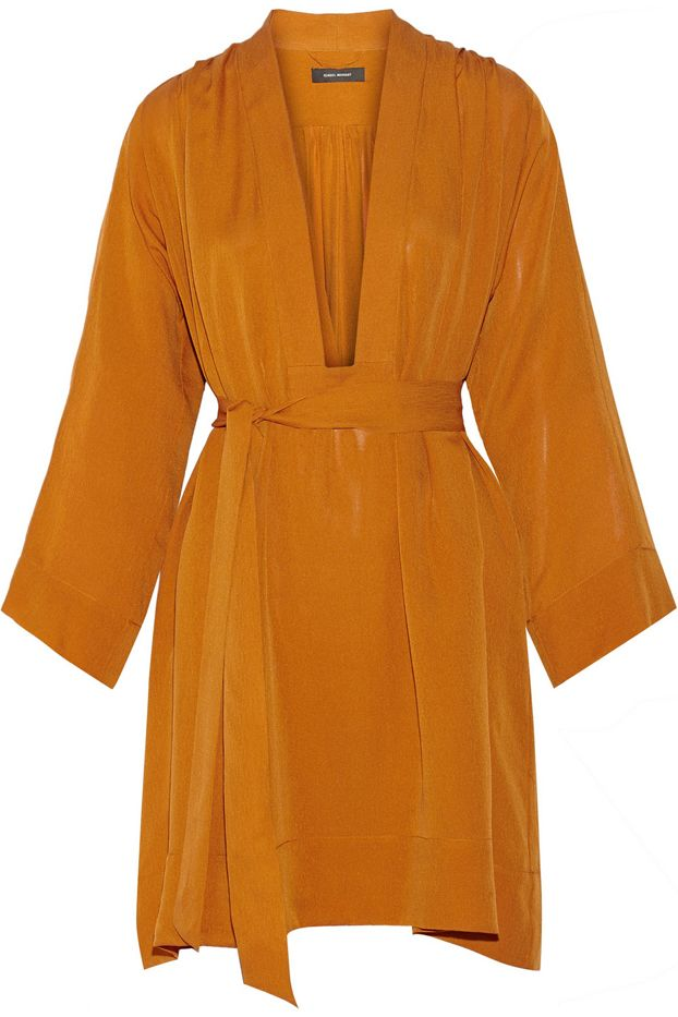 Isabel Marant Zali Silk-Georgette Dress