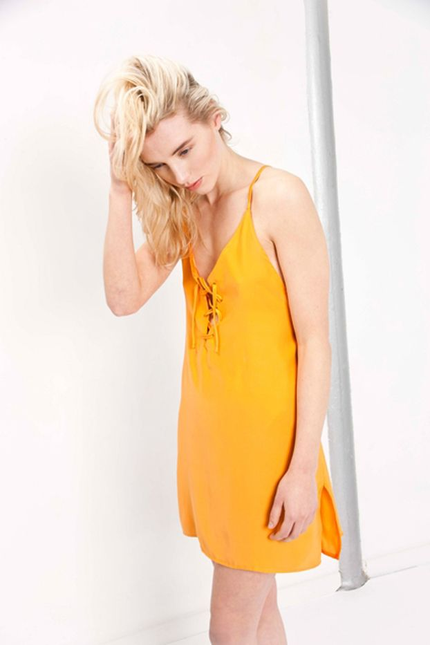 Edie Mac Cross Back Mini Dress