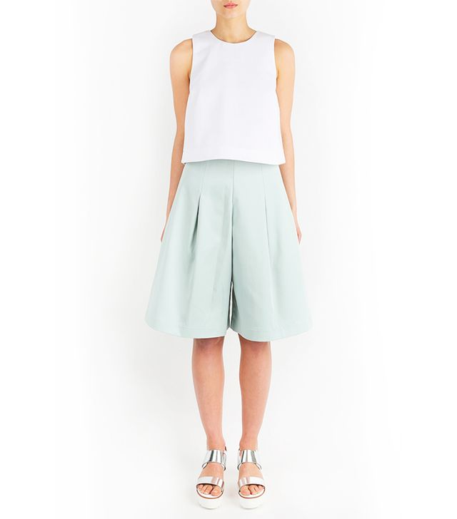 Paper London Short Adamello Culottes in Mint