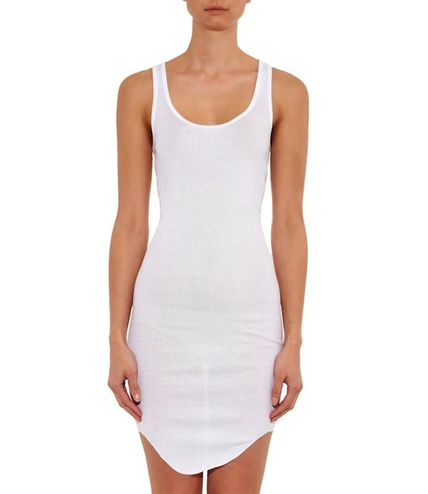 Isabel Marant Etoile Lena Ribbed Cotton Dress