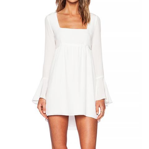 Farrah Dress, White