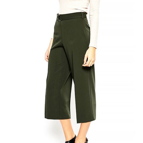 Culottes With D Ring Belt