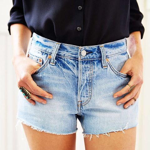 501 Slash Cutoff Shorts