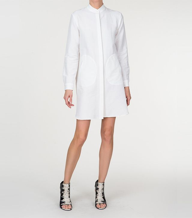 Zero + Maria Cornejo Forward Shirt Dress