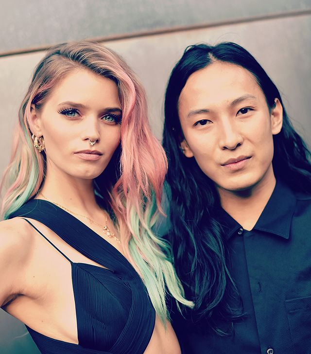 Thanks to Abbey Lee Kershaw, We Now Want Pink-and-Green Hair