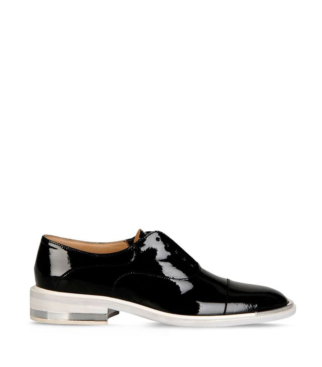 Barbara Bui Patent Leather Oxfords