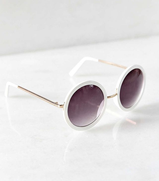 Urban Outfitters Color Round Sunglasses