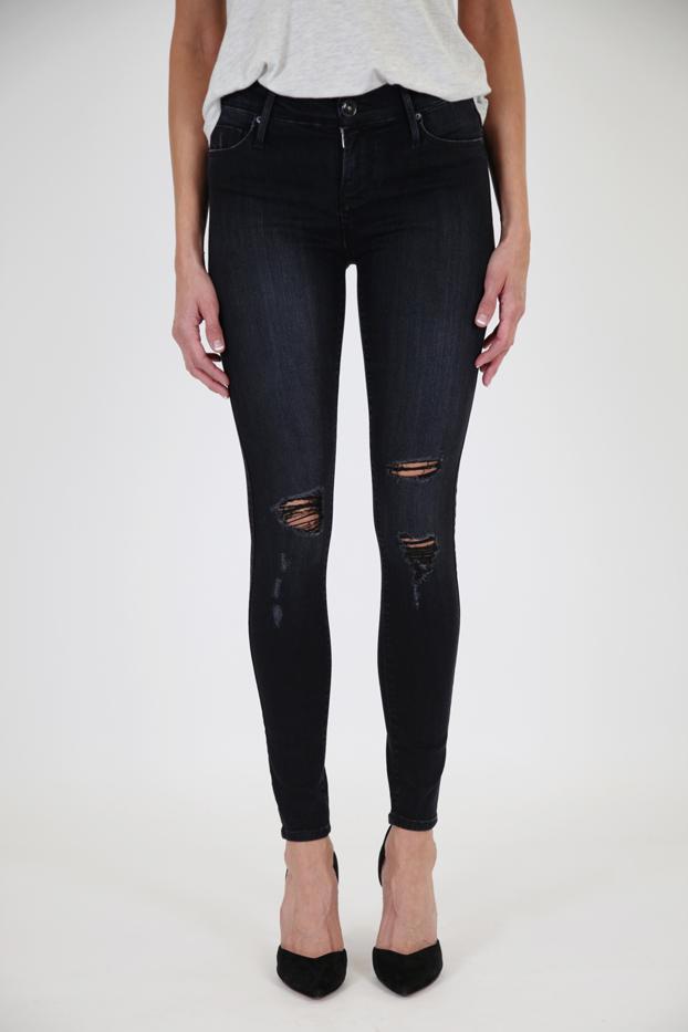 Black Orchid Noah Mid-Rise Black Jeans