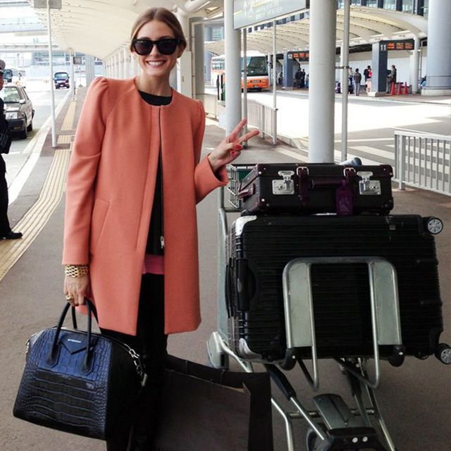 Olivia Palermo's Space-Saving Tip for Packing Lightly