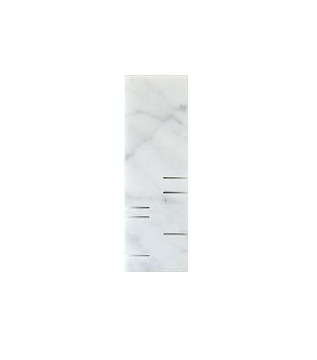 White Carrara Marble Minimalist Sculpture
