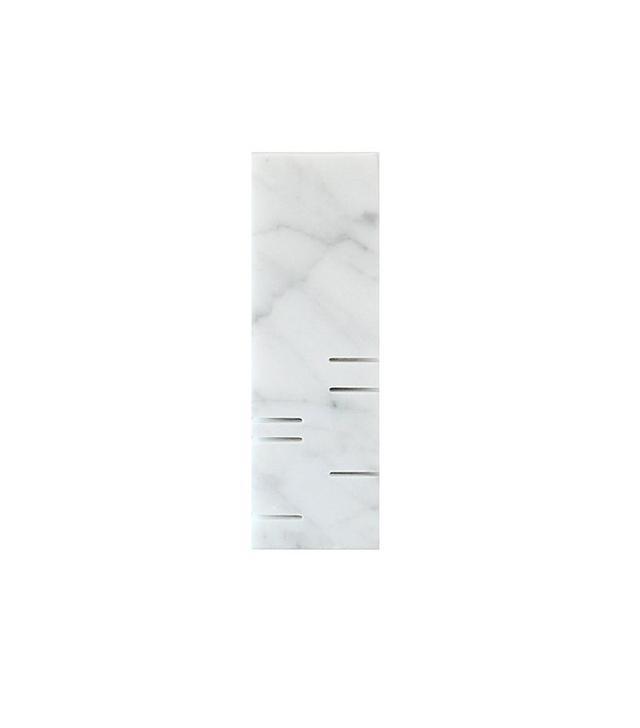 White Carrara Marble Minimalist Sculpture
