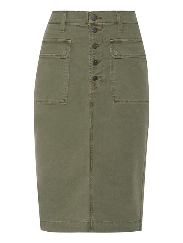 J Brand Ani Stretch-Denim Skirt
