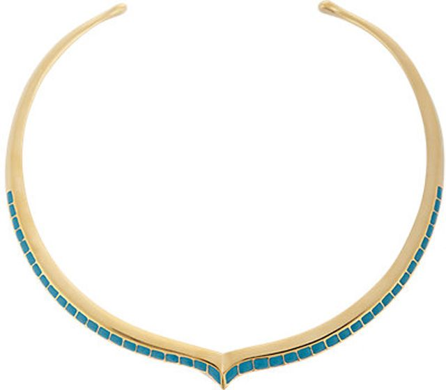 Aurelie Bidermann Peaked Collar Necklace