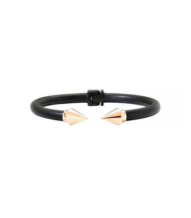 Vita Fede Two Tone Mini Titan Bracelet in Black/Rosegold