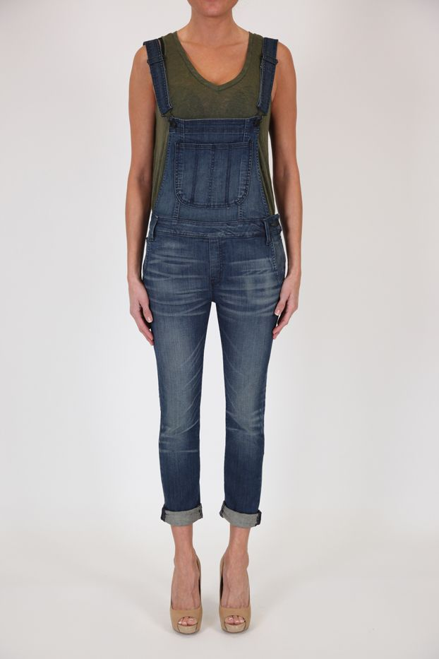 Black Orchid Skinny Overalls