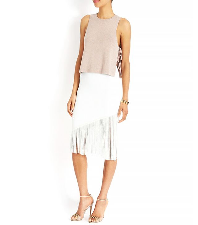 Timo Weiland Exclusive Fringe Skirt
