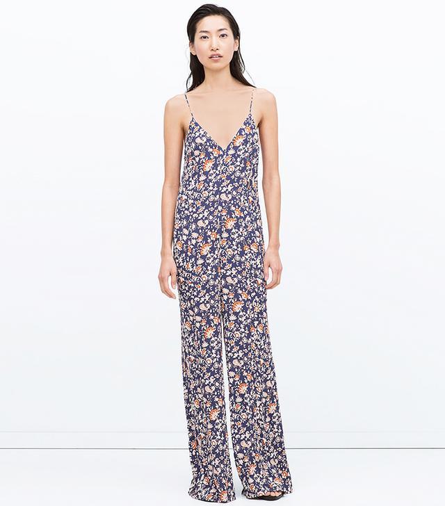 Zara Printed Jumpsuit