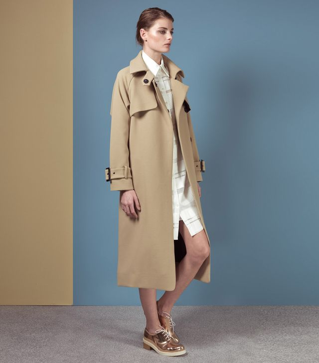 Finery London Otto Oversized Mac Coat