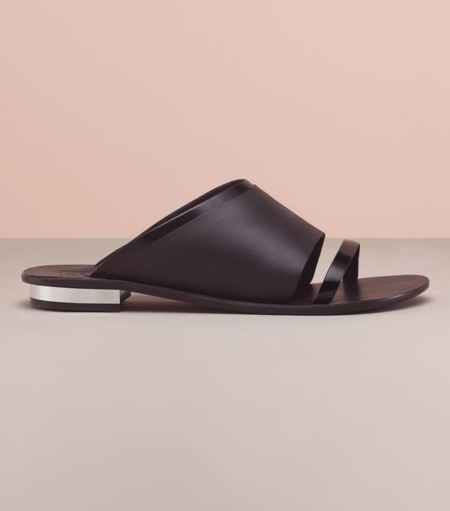 Finery London Amersham Leather Slider Sandals