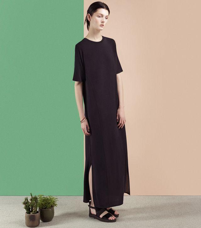 Finery London Wynter Jersey Maxi Dress