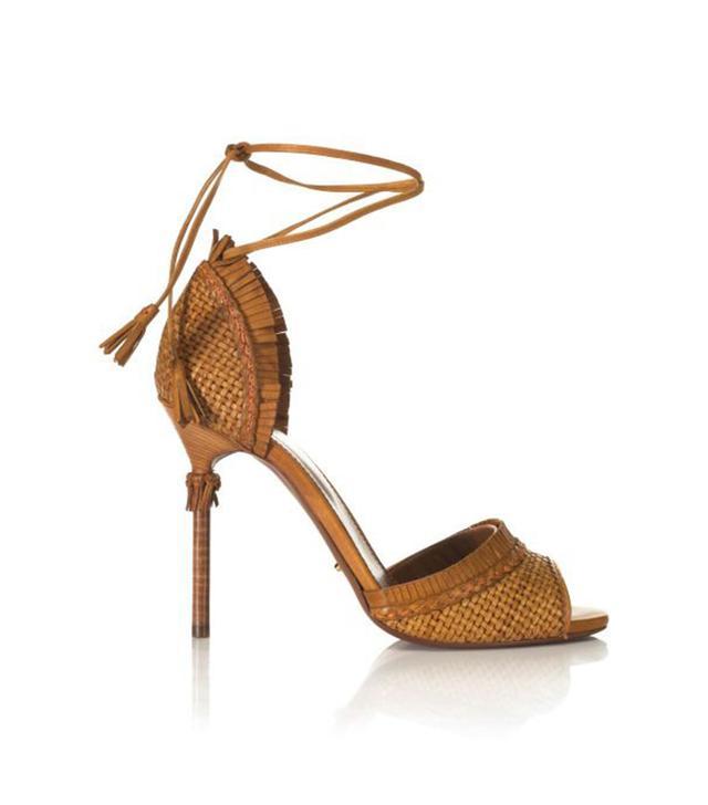 Sergio Rossi Kalhari Woven Sandals