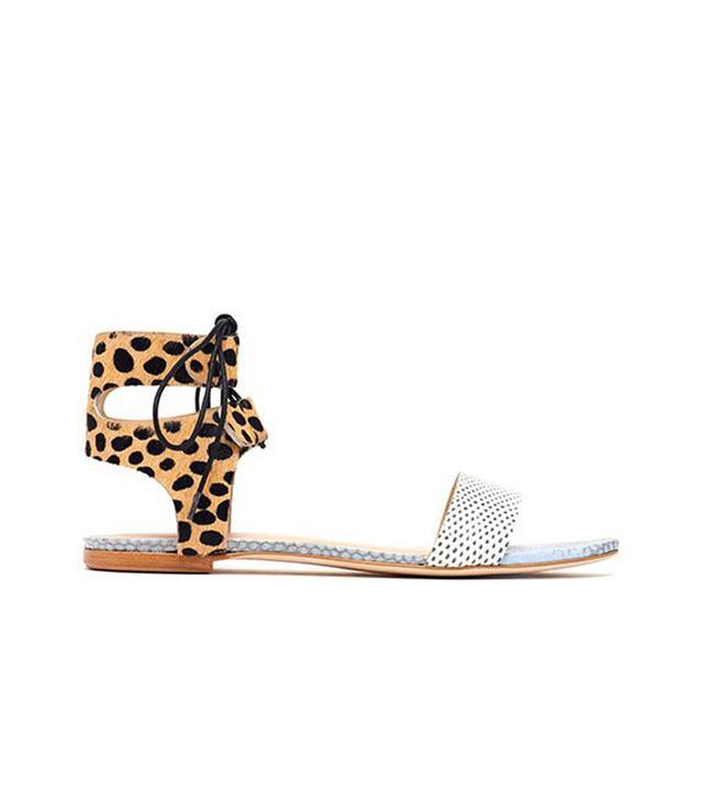 Loeffler Randall Alexa Ankle Tie Sandals