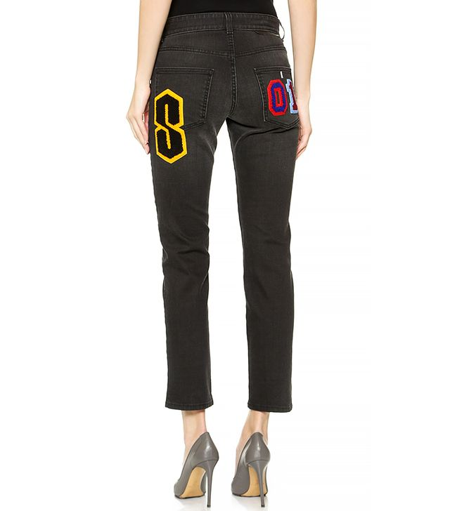 Stella McCartney Patches Embroidery Jeans