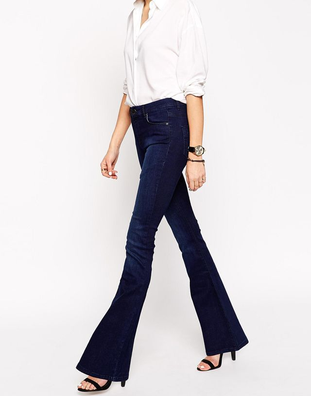 ASOS Petite Bell Flare Jeans