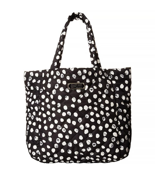 Marc by Marc Jacobs Crosby Quilt Nylon Deelite Dot Tote