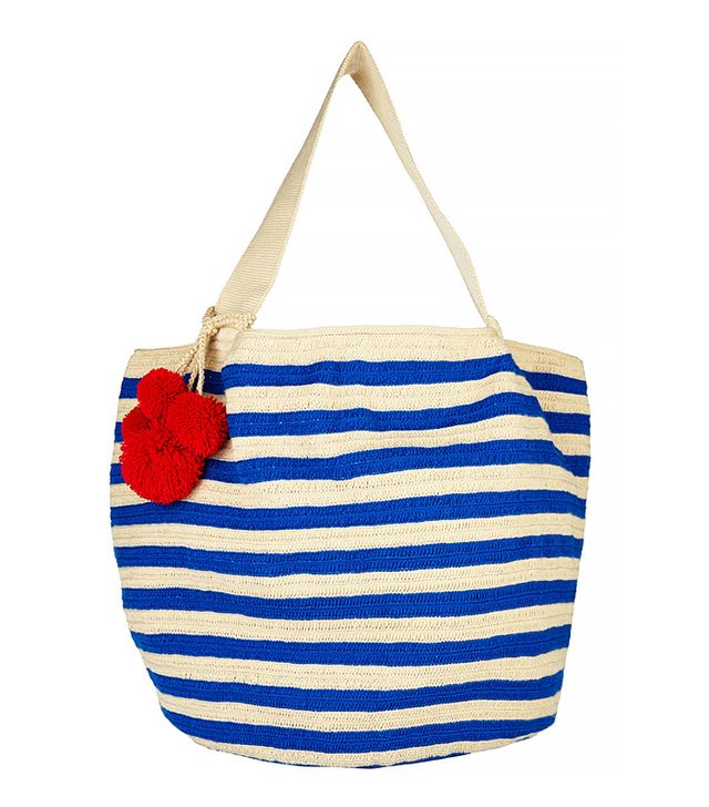 Sophie Anderson Jonas Crocheted Cotton Tote