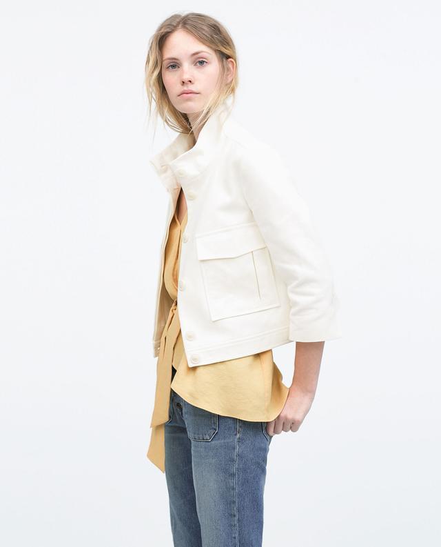 Zara Patch Pocket Jacket