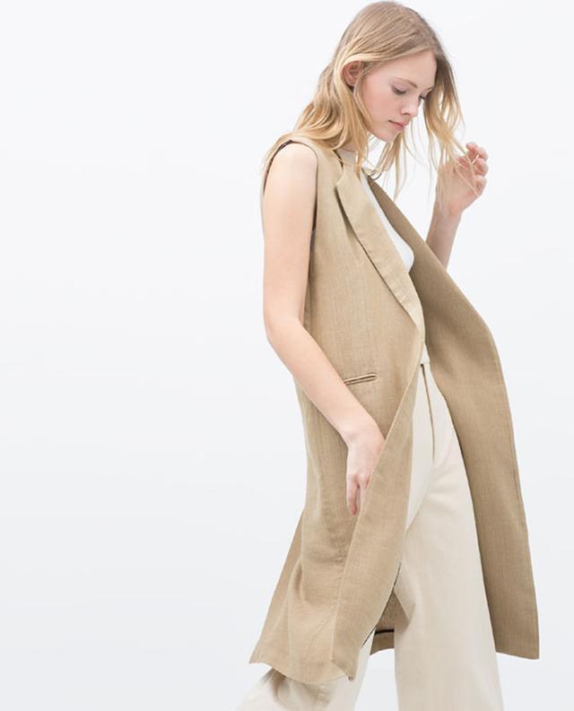 Zara Longwaist Coat